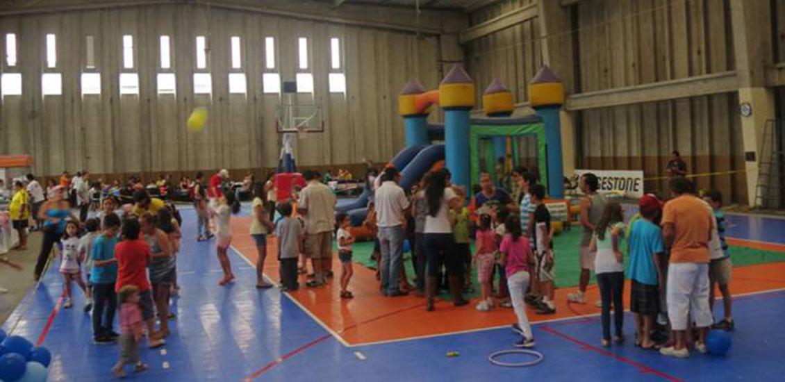 Juegos Golosinas Y Musica En La Celebracion Del Dia Del Nino