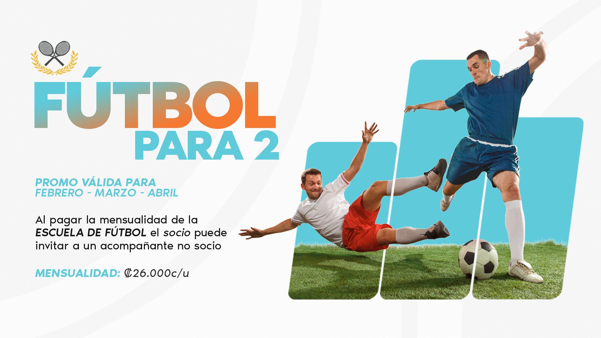 Futbol para 2